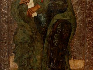 Образ святого Андрея Первозванного из Успенского собора