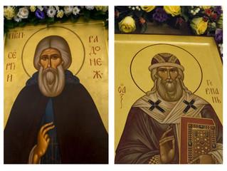 8 октября - день памяти небесных покровителей Свияжска - прп. Сергия Радонежского и свт. Германа, ар