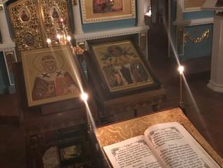 В нашей обители положено начало традиции еженедельного совершения акафиста святителю Герману Казанск