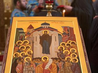 Сердечно поздравляем с праздником Покрова Пресвятой Богородицы!