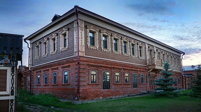Дом купца Каменева XIX век