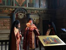 Пасхальное богослужение в Троицкой церкви