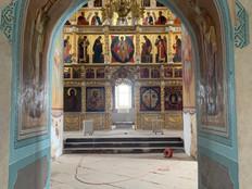Интерьер Свияжского Успенского собора.