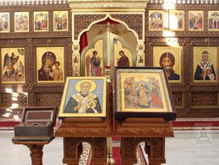 22 апреля в нашей обители прошли торжества посвященные празднованию дня памяти святителя Николая Чуд