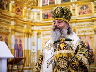 27 апреля 2021 года митрополит Кирилл возглавит богослужение в нашей обители