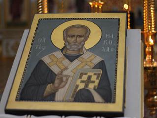 19 декабря в нашей обители прошли торжества в честь святителя Николая Чудотворца