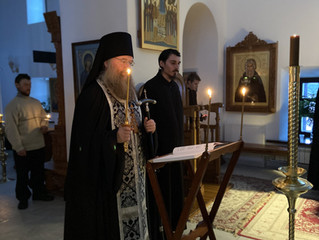 Чтение Великого канона святителя Андрея Критского в первые дни Великого Поста.