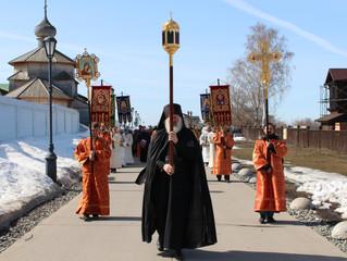 В Свияжске прошел традиционный Крестный ход