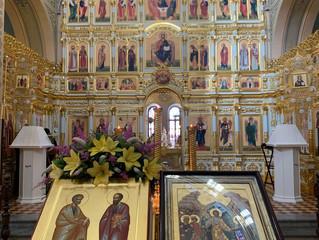 12 июля - день святых первоверховных апостолов Петра и Павла