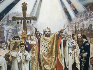 28 июля в день памяти равноапостольного князя Владимира Церковь отмечает День Крещения Руси