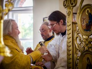 24 июня насельник нашей обители иеродиакон Варсонофий (Лепеха) был возведен в сан пресвитера