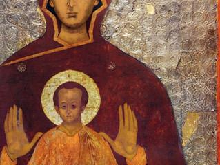 """10 декабря Церковь совершает празднование в честь Иконы Божией Матери """"Знамение"""""""