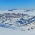 Зимний Свияжск с высоты птичьего полета.jpg