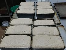 Монастырский хлеб перед закладной в печь