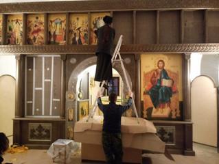 Готовится к освящению Сергиевский храм