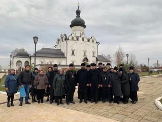 Сегодня нашу обитель посетил архиепископ Пятигорский и Черкесский Феофилакт