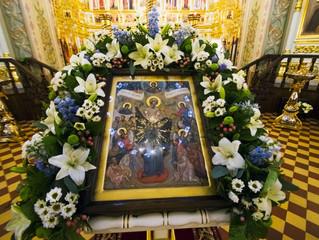 """Икона Божией Матери """"Всех скорбящих Радосте"""" и ее почитание на свияжской земле"""