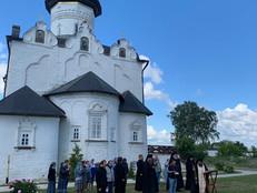 Троицкая родительская суббота в Свияжском монастыре