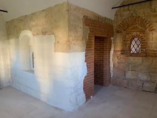 Мемориальная келья святителя Германа открылась сегодня в нашей обители