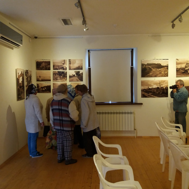 15 сент Старожилы Свияжска на фотовыставке Ф. Губаева