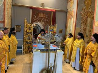 Годовщину перенесения мощей святителя Германа из Казани в Свияжск впервые отпраздновали в нашей обит