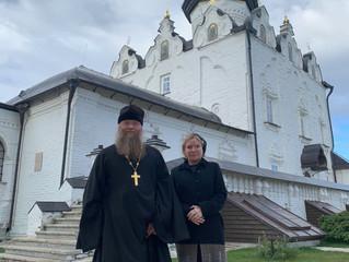 Министр Культуры РФ посетила Свияжский Богородице-Успенский монастырь