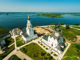 Свияжский Успенский монастырь — остров молитвы