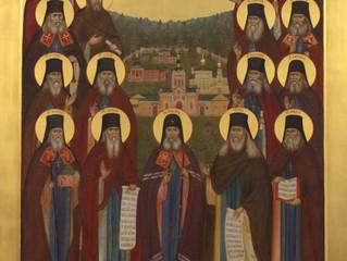 28 декабря в нашу обитель прибыла икона Собора Оптинских старцев