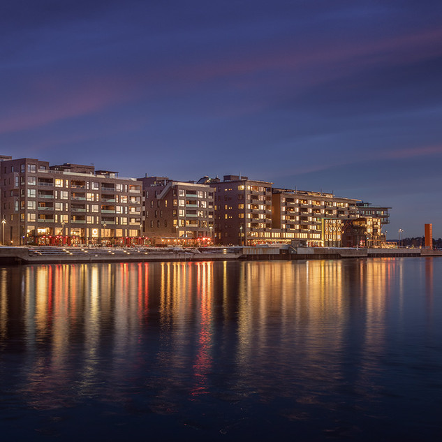 Sørenga. Oslo