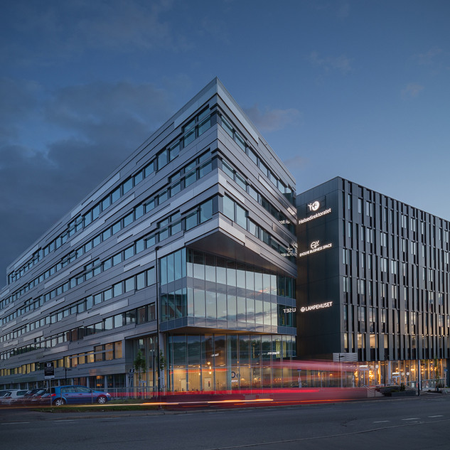 Workplace Oo building, Storo. Oslo