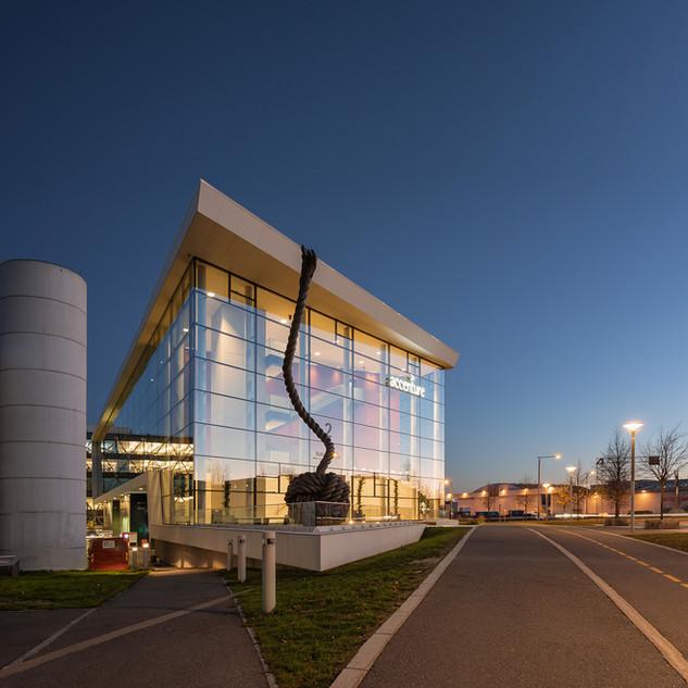 Accenture building. Fornebu. Oslo