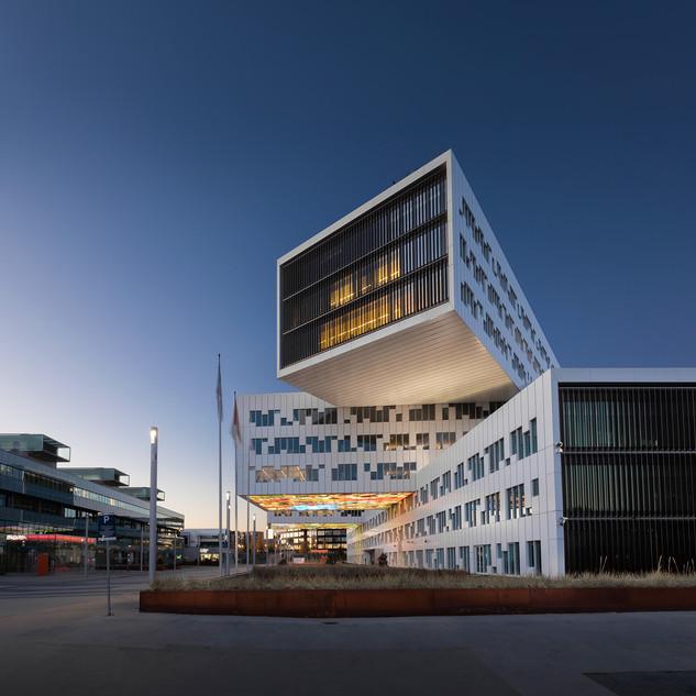 Statoil building, Fornebu. Oslo.