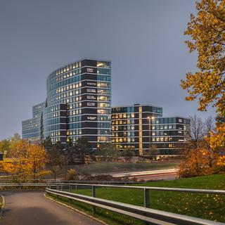 Helsfyr Atrium building. Oslo