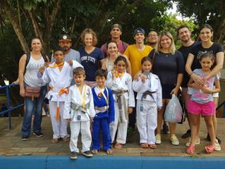 Brilhante participação de nossos jovens judocas em Torneio da Bosch.