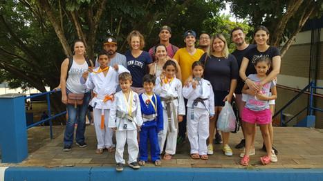 Brilhante participação de nossos jovens judocas em Torneio da Bosch