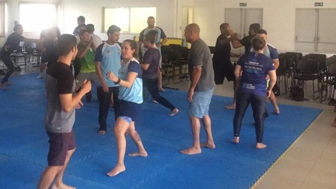 Professores do Atleta Cidadão participam de capacitação.