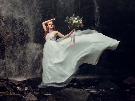 Published Shoot: Waterfall Elopement