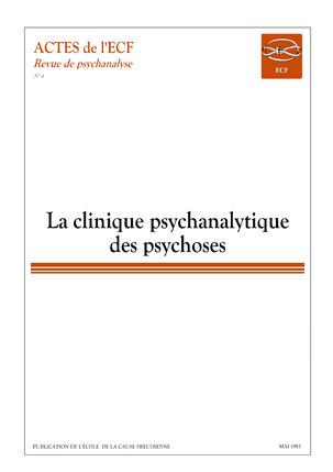 Revue de psychanalyse №4