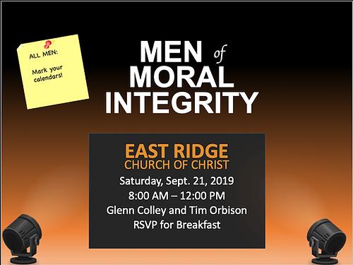 Men of Moral Integrity
