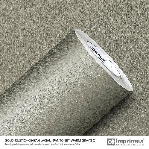 Auto-Adesivo - Gold Rustic - Cinza Glacial