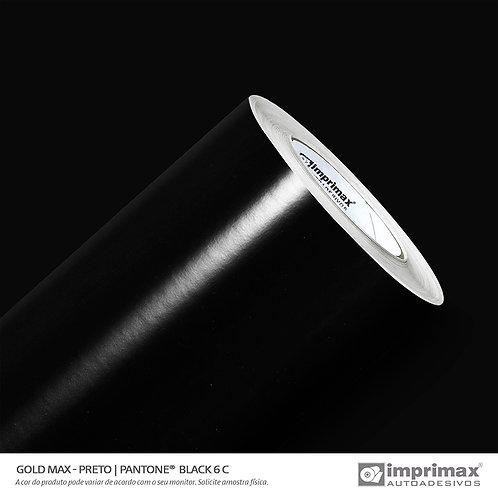Auto-Adesivo - Gold Max - Preto