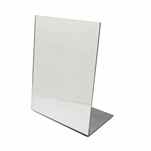 Acrílico em L Espelhado A4