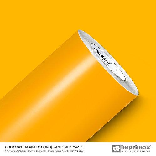 Auto-Adesivo - Gold Max - Amarelo Ouro