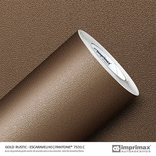 Auto-Adesivo - Gold Rustic - Escaravelho