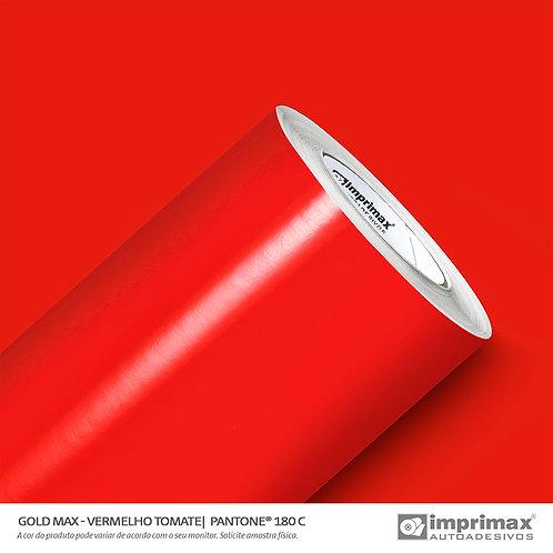 Auto-Adesivo - Gold Max - Vermelho Tomate