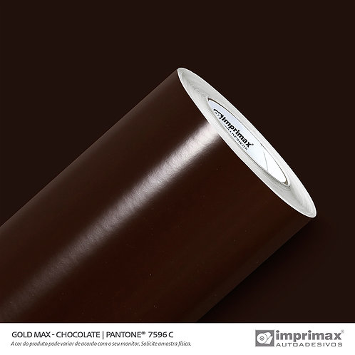Auto-Adesivo - Gold Max - Chocolate