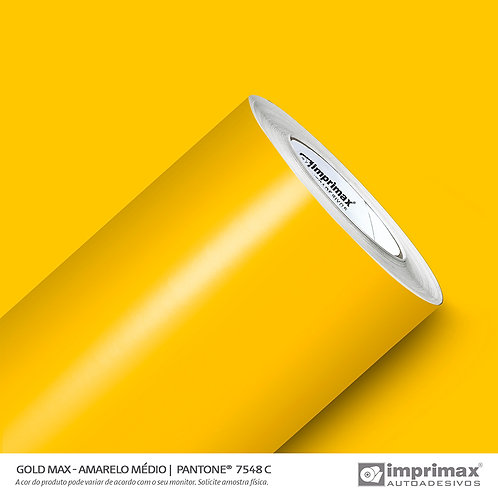 Auto-Adesivo - Gold Max - Amarelo Médio
