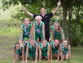 Nos U15 filles en 1/4 de la Coupe de l'Anjou