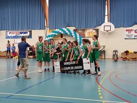 Nos U15 filles remportent la Coupe de l'Anjou