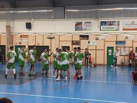 Nos Seniors 2 en 1/2 finale de la Coupe de  l'Anjou